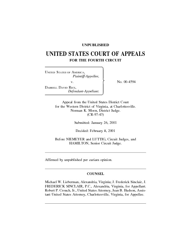 US Court of Appeals Darrell David Rice Appeal in 2001.pdf
