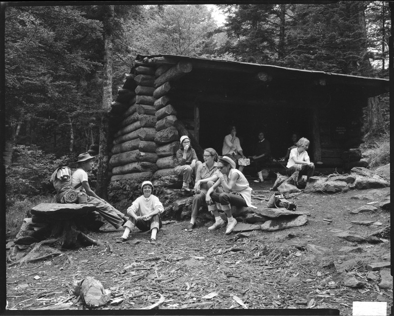 Day Hikers on the Appalachian Trail (1959)