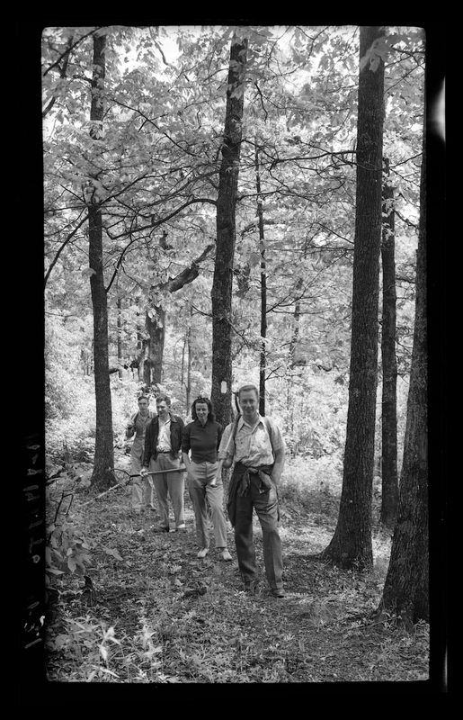 Volunteer trail crew in Tennessee  (1947)