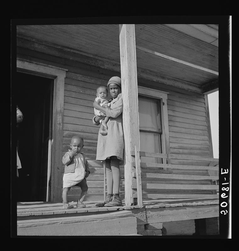 """""""Negro children near Wadesboro, N.C."""""""