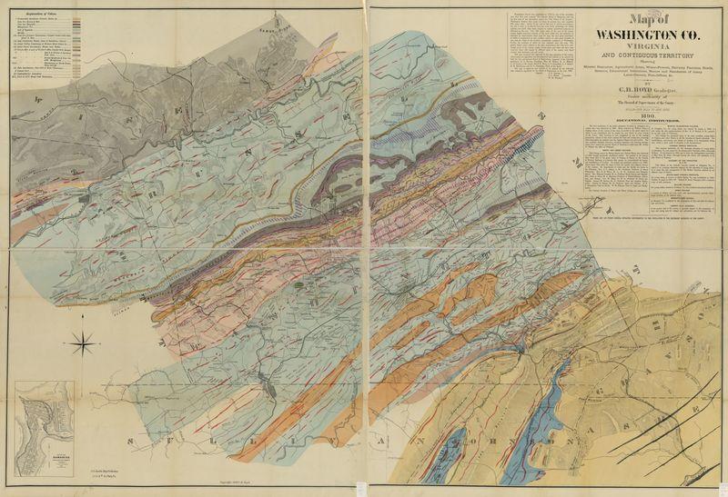 Map of Washington County