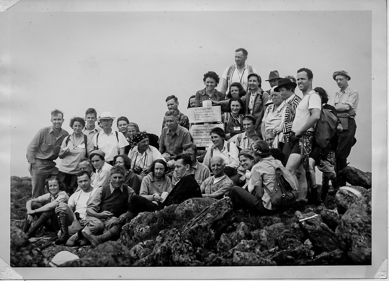 PATC Hikers on Katahdin (1939)