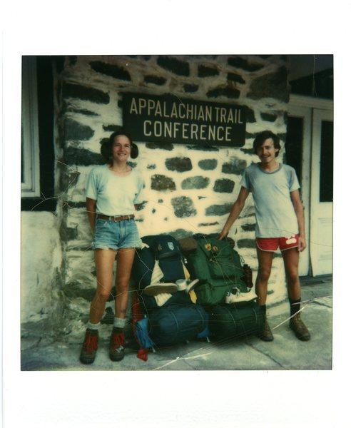 Hikers Bruce and Ellen, July 19, 1979