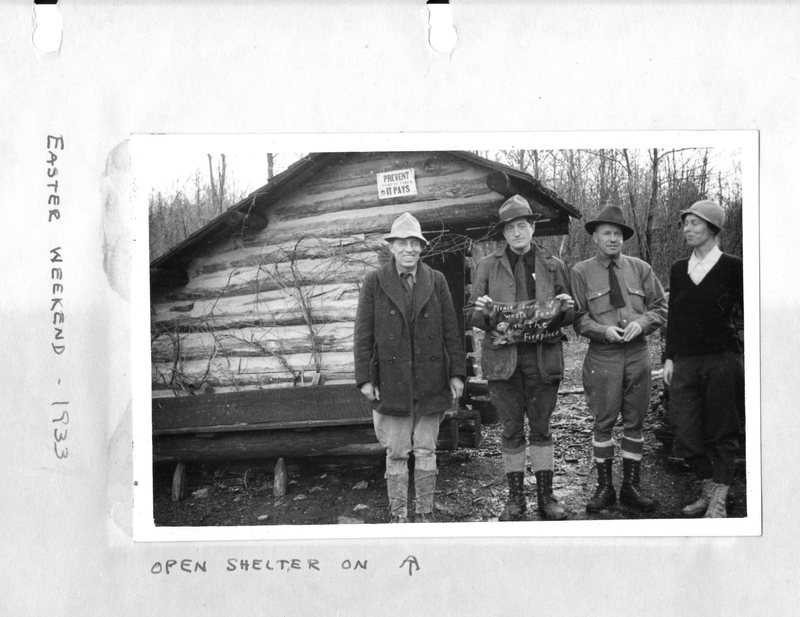 Appalachian Trail Shelter in Pennsylvania (1933)