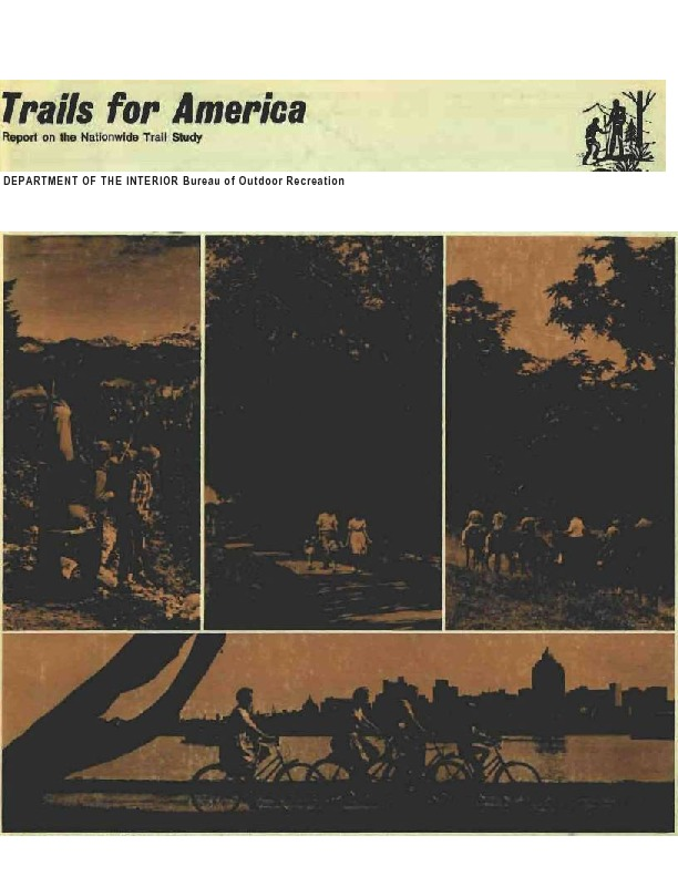 Trails for America. Report on the Nationwide Trail Study (1965)