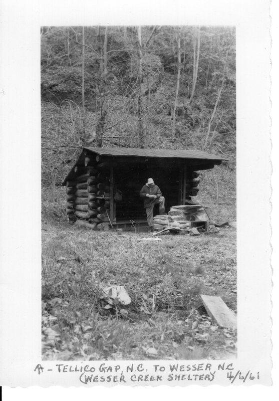Wesser Creek Shelter 1961.jpg