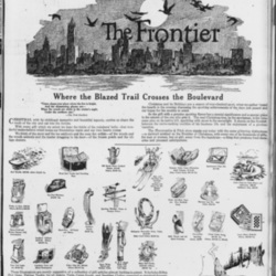 1919 newspaper ad inThe Sunfor Abercrombie & Fitch