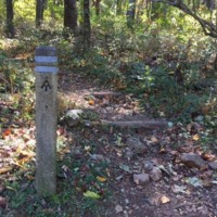 AT Post Near Elkwallow in Shenandoah National Park2.JPG