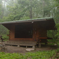 Allentown Hiking Club Shelter on the Appalachian Trail (2005)