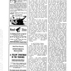 Outdoor Life excerpt with an ad for Kampkook, a camping stove
