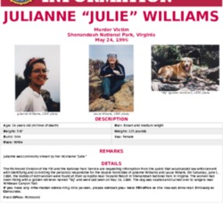 FBI Seeking Information on Appalachian Trail murders of Julianne Williams and Laura Winans