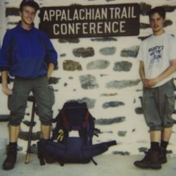 Hikers Rubberduck and CC.P., September 2 1994