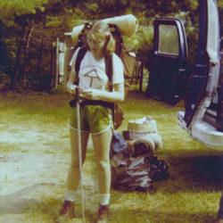 Hiker Cindy, 1980